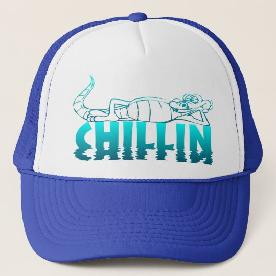 Chillin Blue Hat