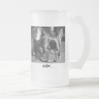 Chillin' French Bulldog Mug