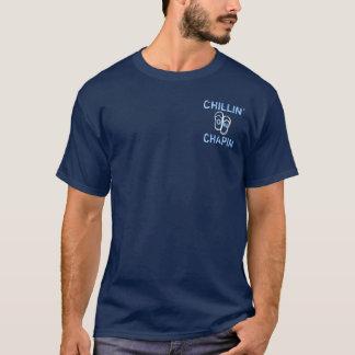 Chillin on Chapin Beach Dennis MA flipflop T-Shirt