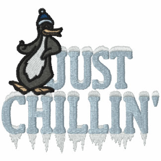 Chillin Penguin Track Jackets