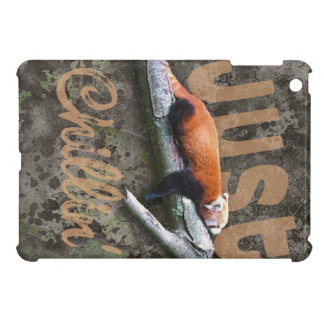 Chillin' Red Panda iPad Mini Covers