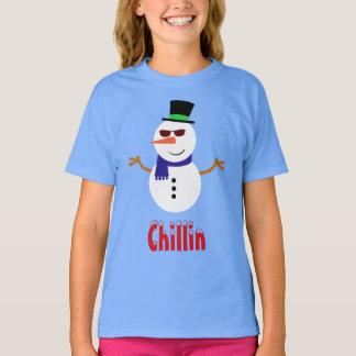 Chillin Snowman Shirt