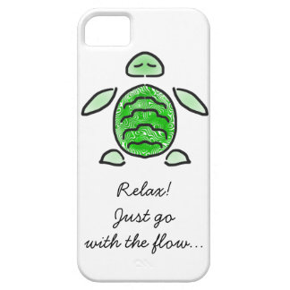 Chilling Cute Sea Turtle Barely There iPhone 5 Case