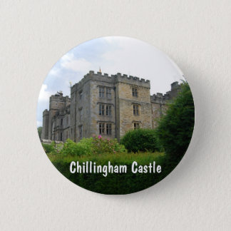 Chillingham Castle 6 Cm Round Badge