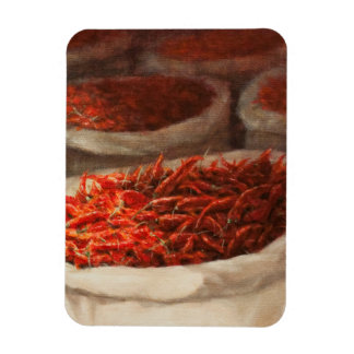 Chillis 2010 rectangular photo magnet