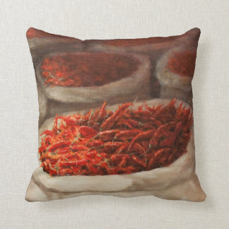 Chillis 2010 throw pillow