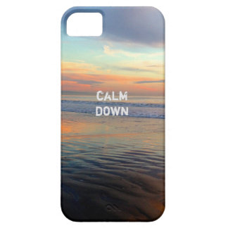 Chillwave Sunset Beach Calm Down iPhone 5 Cover