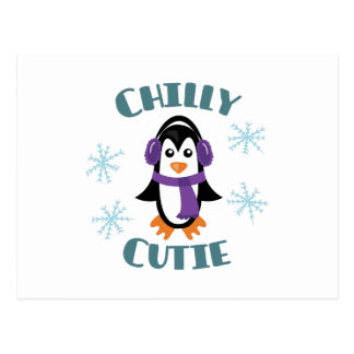 Chilly Cutie Postcard
