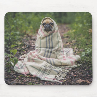 Chilly doggy mouse pad