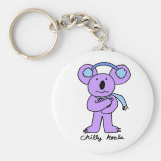 Chilly Koala Keychain