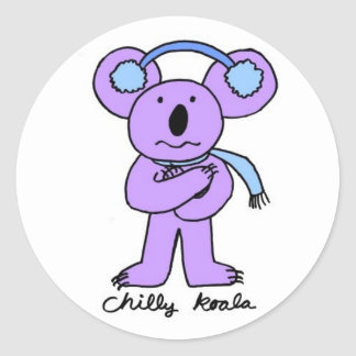 Chilly Koala Stickers