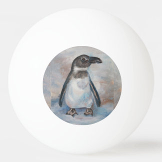 Chilly Little Penguin Ping Pong Ball