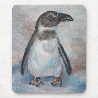 Chilly Little Penguin Mousepad