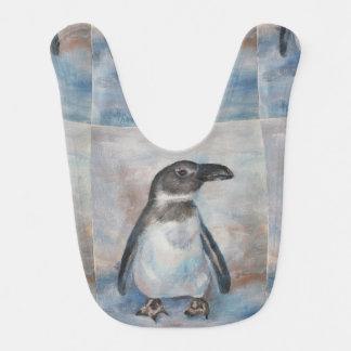 Chilly Little Penguin Baby Bibs