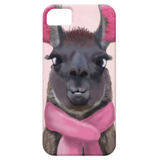Chilly Llama Pink Barely There iPhone 5 Case