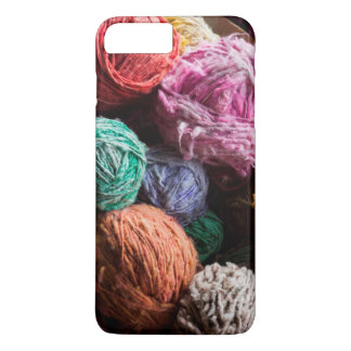 Chiloe wool yarn dyed with natural dyes iPhone 8 plus/7 plus case