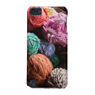 Chiloe wool yarn dyed with natural dyes iPod touch (5th generation) cases