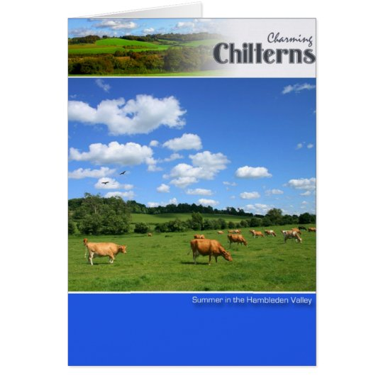 Chilterns Scenic Greeting Card