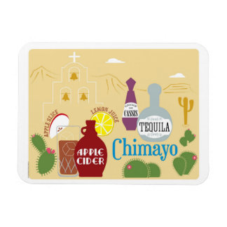 Chimayo Cider and Tequila Cocktail Rectangular Photo Magnet