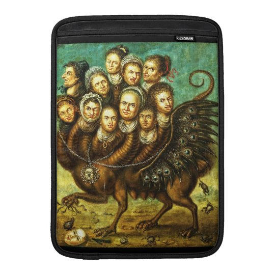 Chimera Winged Creature Early 18th Century Monster Sleeve For MacBook Air