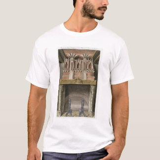 Chimney from a 15th century house in Rouen, from ' T-Shirt