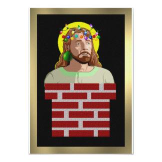 Chimney Jesus 13 Cm X 18 Cm Invitation Card