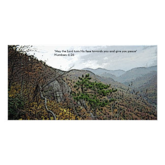 Chimney Rock and Devils Head Photo Greeting Card
