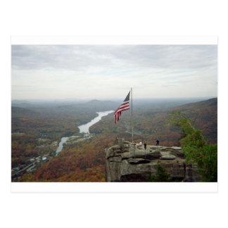 Chimney Rock Mountain Postcard