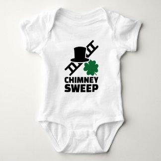 Chimney sweep baby bodysuit