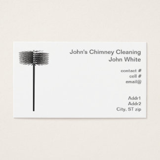 Chimney sweep business card