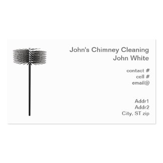Chimney sweep pack of standard business cards