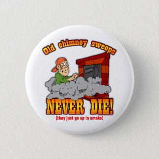 Chimney Sweeps 6 Cm Round Badge