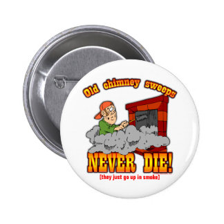 Chimney Sweeps 6 Cm Round Badge