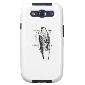 Chimney Swift Bird Art Galaxy S3 Covers