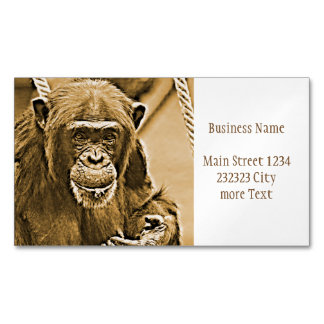 Chimp 216 magnetic business cards