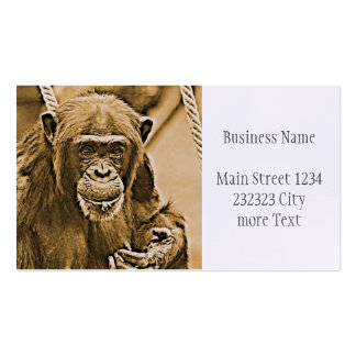 Chimp 216 pack of standard business cards