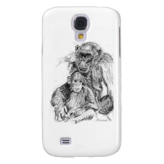 Chimp and mom samsung galaxy s4 covers