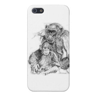 Chimp and mom cases for iPhone 5