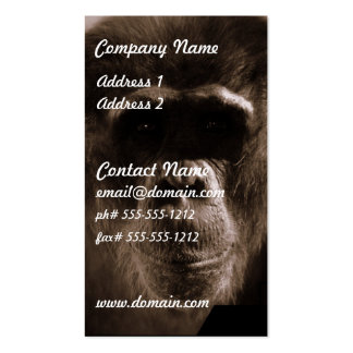 Chimp Business Card