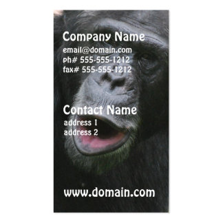 Chimp Chat Business Cards