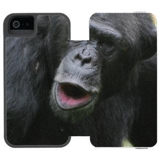 Chimp Chat Incipio Watson™ iPhone 5 Wallet Case