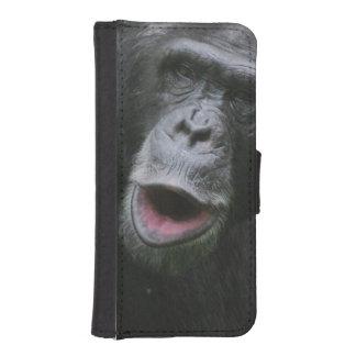 Chimp Chat iPhone 5 Wallet Cases
