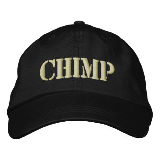 CHIMP EMBROIDERED HAT