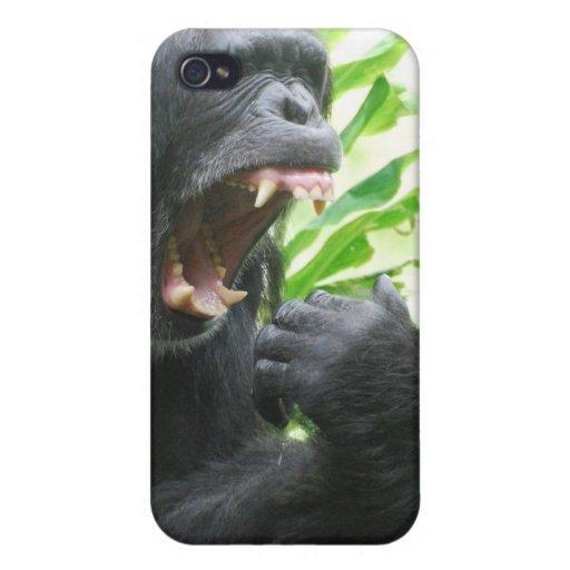 Chimp Fangs iPhone 4 Case