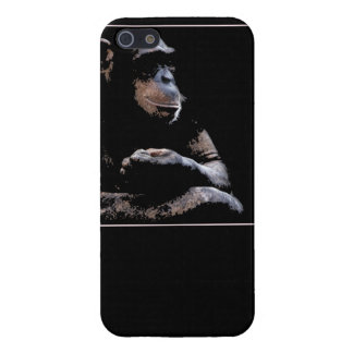 chimp likes to chill iPhone 5 covers