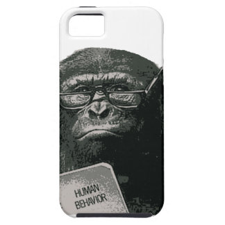 Chimp Reading Cover For iPhone 5/5S