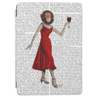Chimp With Wine iPad Air Cover