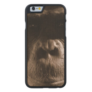 Chimp Carved® Maple iPhone 6 Case
