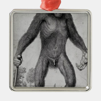 Chimpanzee, 1699 christmas ornament