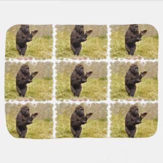 Chimpanzee Buggy Blanket